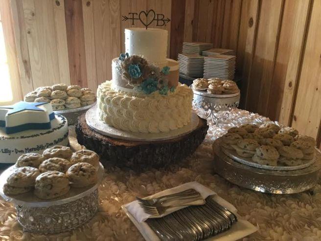 Bartlett-Vick cake table